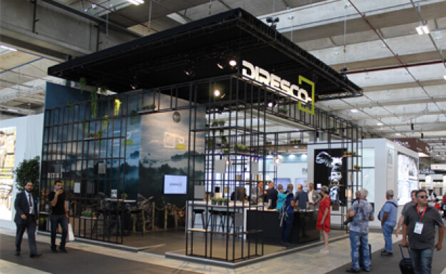 Diresco stand wins a prize at the Italian Marmomac trade fair